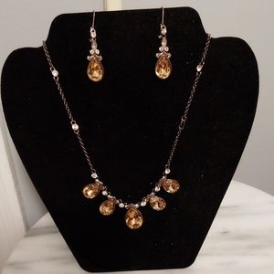 Givenchy necklace/earring set